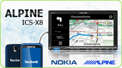 ALPINE ICS-X8