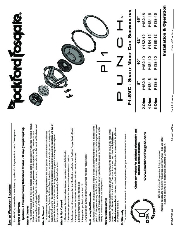 rockford fosgate p1s2