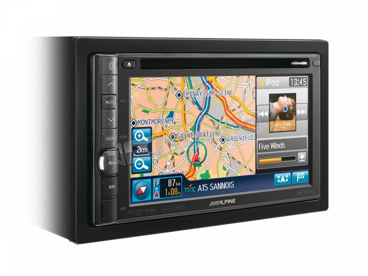 alpine ine s900r monitor auto 1 e 2 din car multimedia. Black Bedroom Furniture Sets. Home Design Ideas