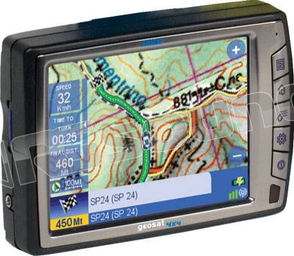 AV Map Geosat 4x4 WILD con sd 4 Gb
