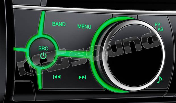 Alpine ute bt autoradio din usb aux flac mp wma aac bluetooth