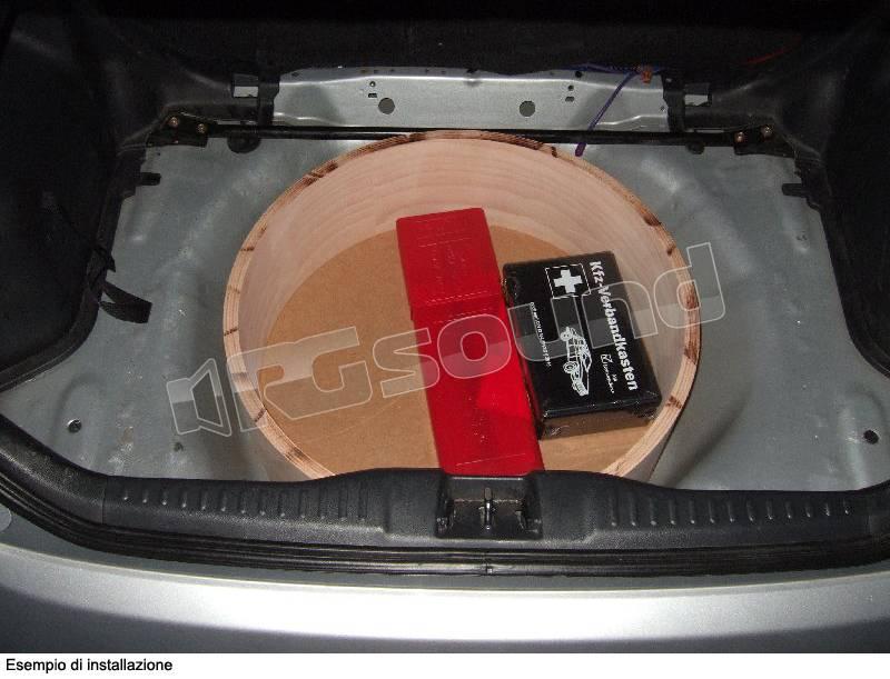 Gladen gladen subframe frame65 20 casse acustiche box for Box subwoofer in vetroresina