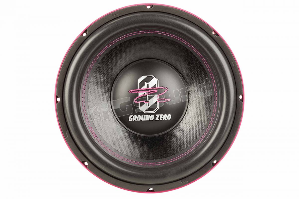 Ground Zero GZHW 12XSPL-D1 PINK EDITION