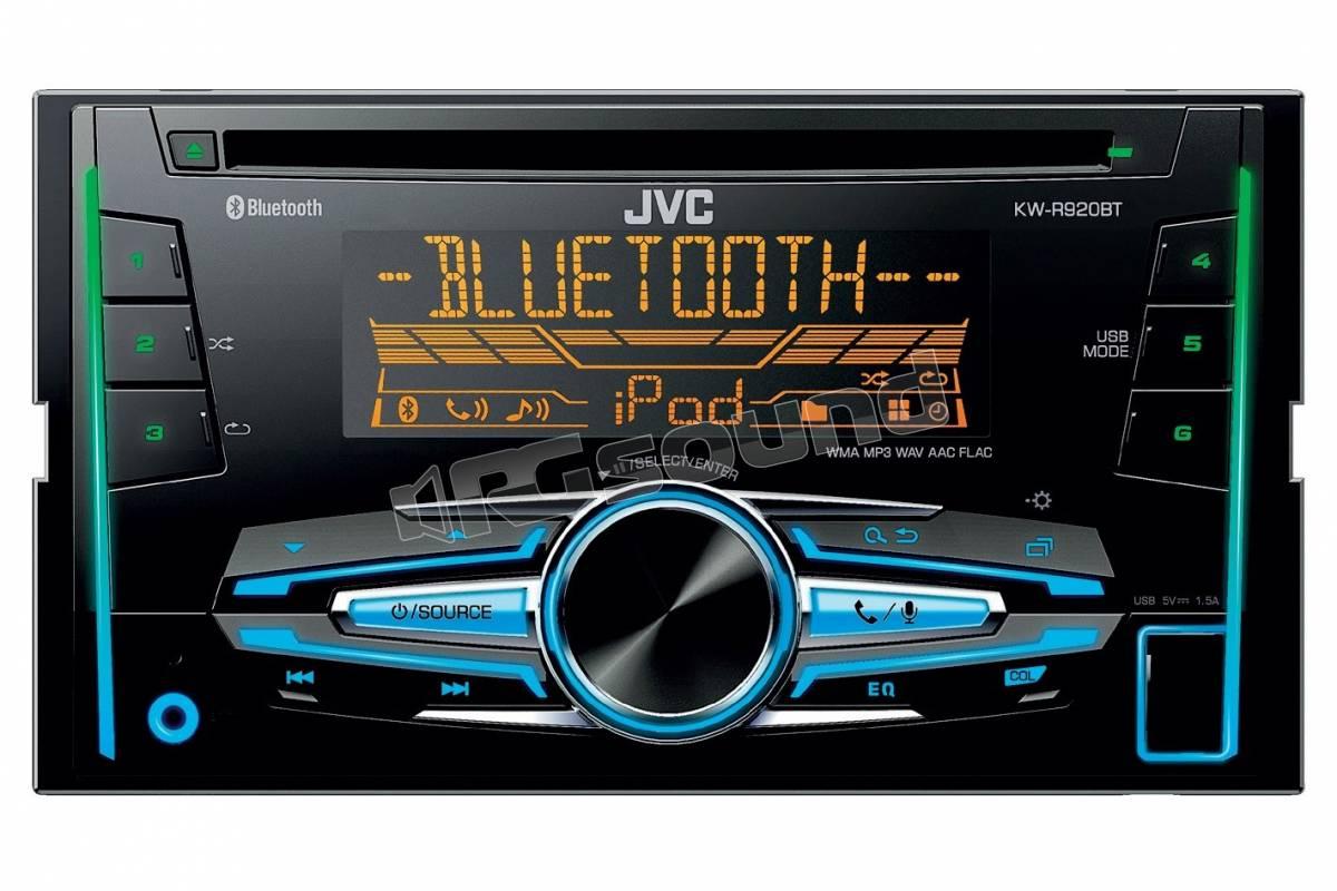 jvc kw r920bt sintolettore cd 2din bluetooth usb