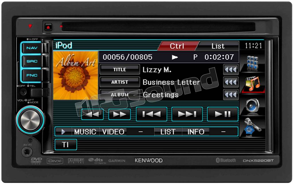 Kenwood DNX5220BT