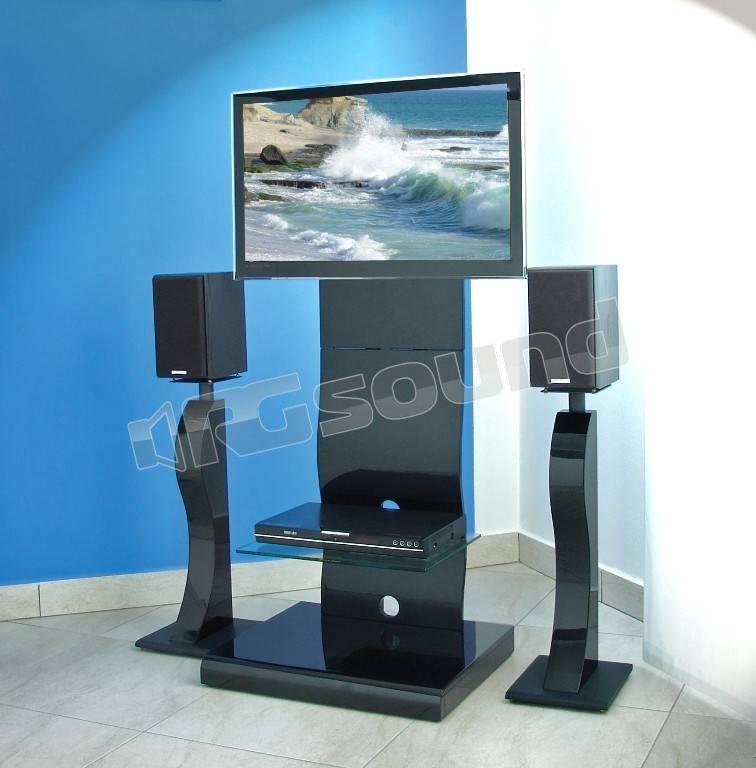 Prandini 121 piedistalli per casse acustiche supporti tv lcd plasma rg sound store - Mobili porta televisore ...