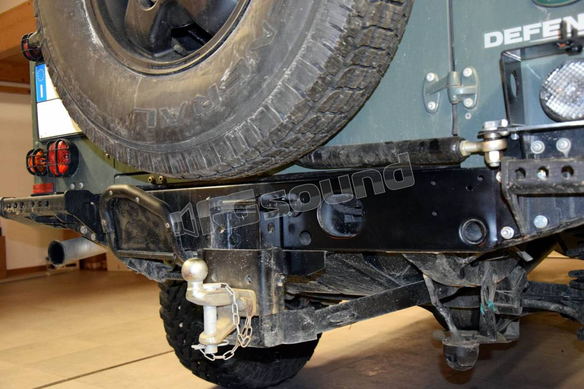 RG Sound Supporto retrocamera per Land Rover Defender