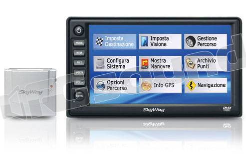 Skyway GM 4000T con TV