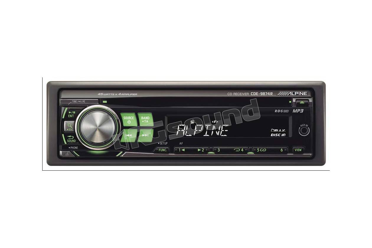Alpine CDE-9874R - SINTO CD/MP3