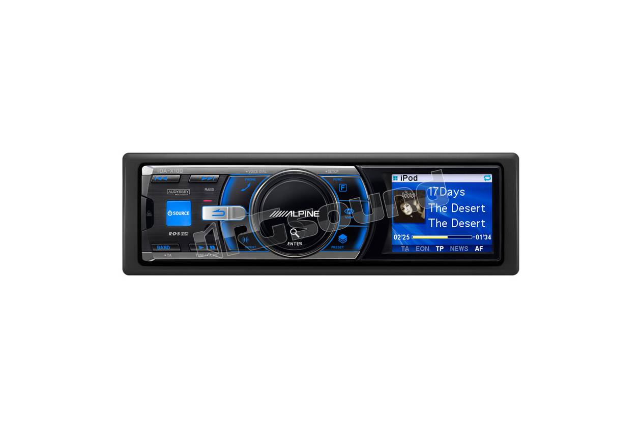 alpine ida x100 autoradio 1 din e 2 din autoradio 1 din rg sound store. Black Bedroom Furniture Sets. Home Design Ideas