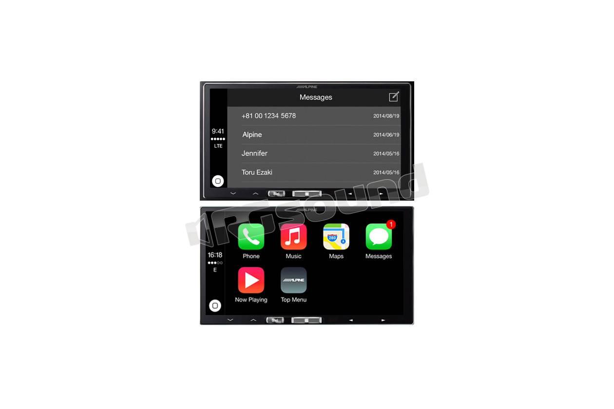 alpine ilx 700 monitor auto 1 e 2 din car multimedia. Black Bedroom Furniture Sets. Home Design Ideas