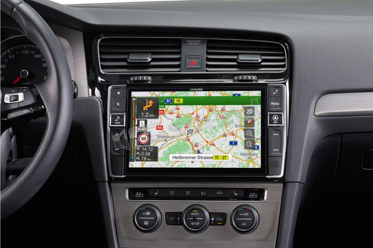 Alpine X901d G7 Monitor Navigatore 9 Quot Dedicato Per Vw Golf