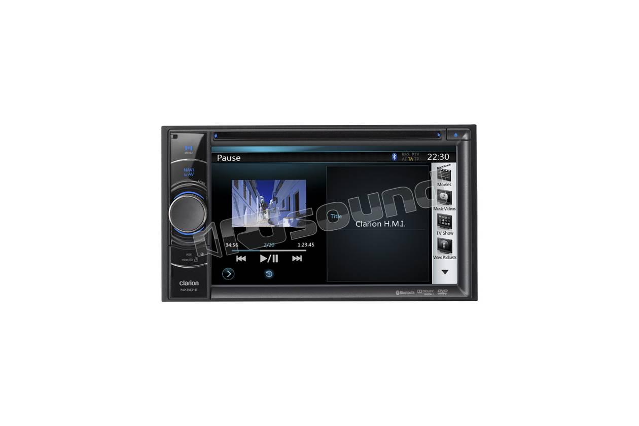 Clarion Nx501e Monitor Auto 1 E 2 Din Car Multimedia Nx700e Wiring Diagram
