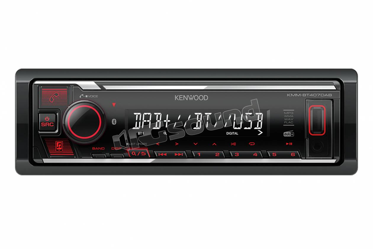 Kenwood KMM-BT407DAB