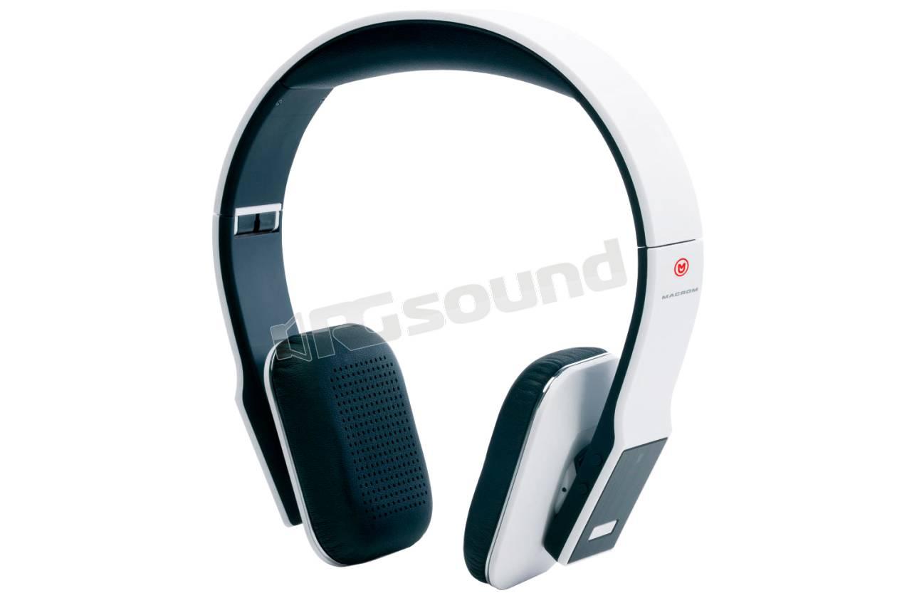 Macrom M-HPB30.W cuffie Bluetooth bianche  c2b5463a6a08