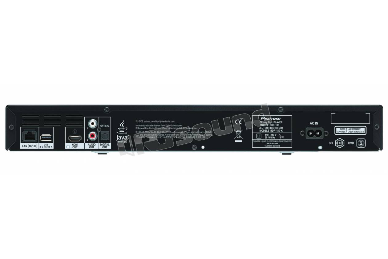 Pioneer BDP-180-S