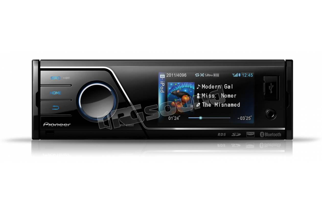 pioneer mvh 8300bt autoradio 1 din e 2 din autoradio 1 din rg sound store. Black Bedroom Furniture Sets. Home Design Ideas