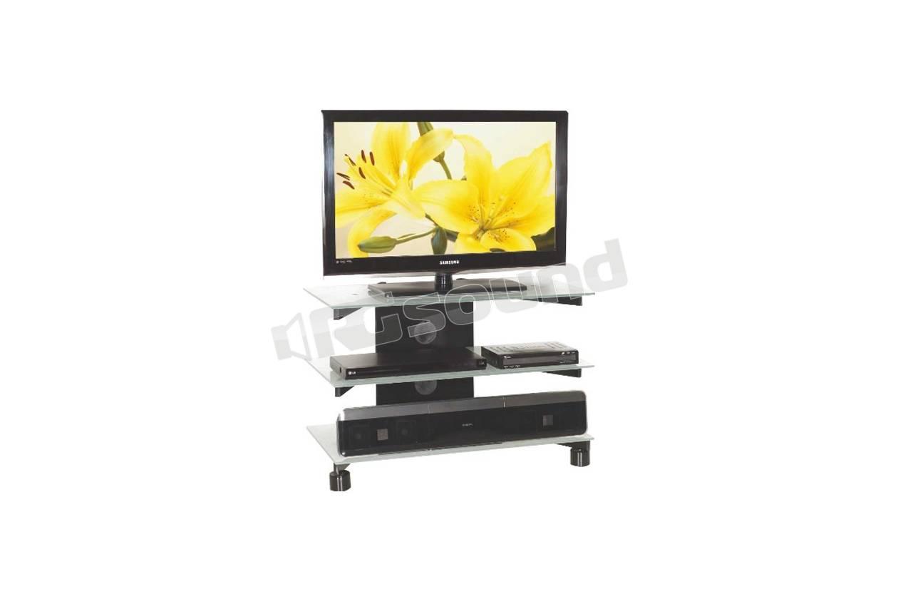 Mobili Televisori Lcd.2040 Mobile D Arredamento Colore Nero Con Vetri Satinati O Fume