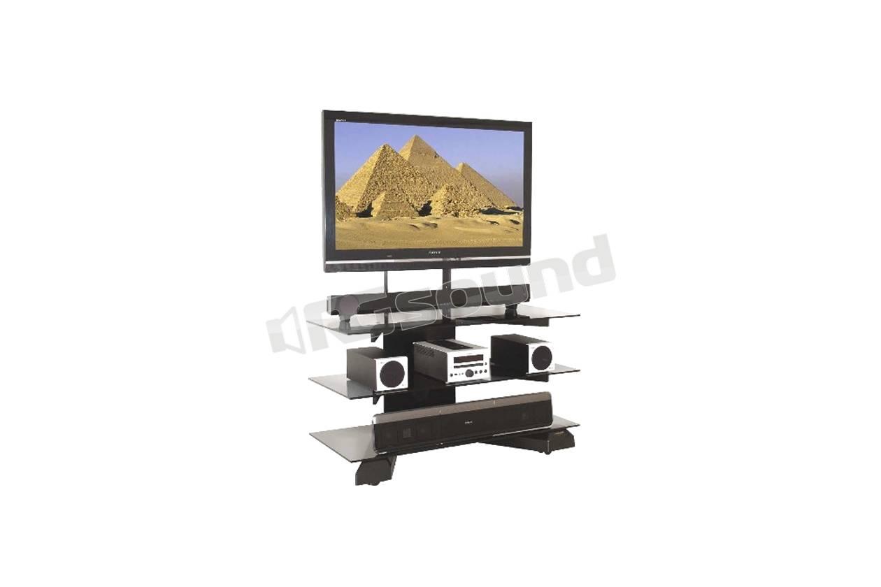 Mobile Porta Tv Plasma.Prandini 2120 Mobile Porta Plasma Led O Lcd Colore Nero E Vetri