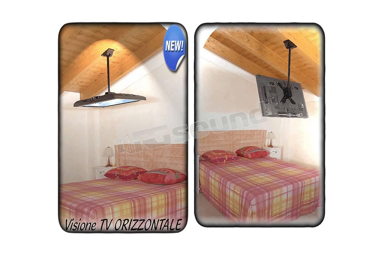 Porta Tv Da Soffitto.Porta Tv A Soffitto Supporto Per Tv Da Terra Moderno