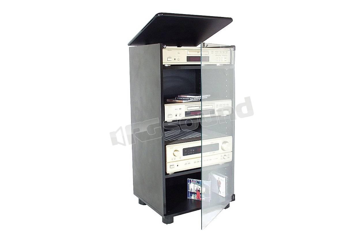 Prandini 947 supporti tv lcd plasma proiettori mobili for Mobili hi fi design