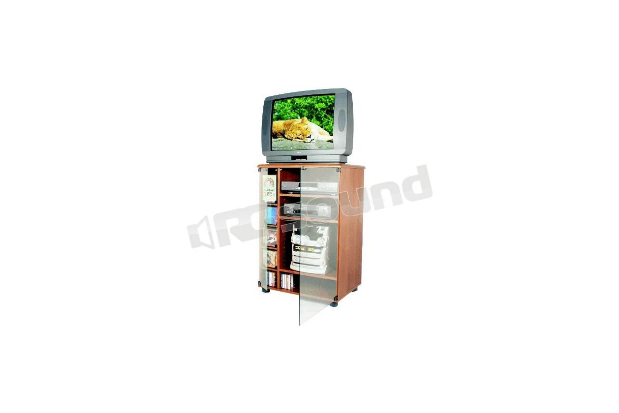 Prandini Mobili Hifi.953 Mobile Finitura Noce Porta Tv E Hi Fi