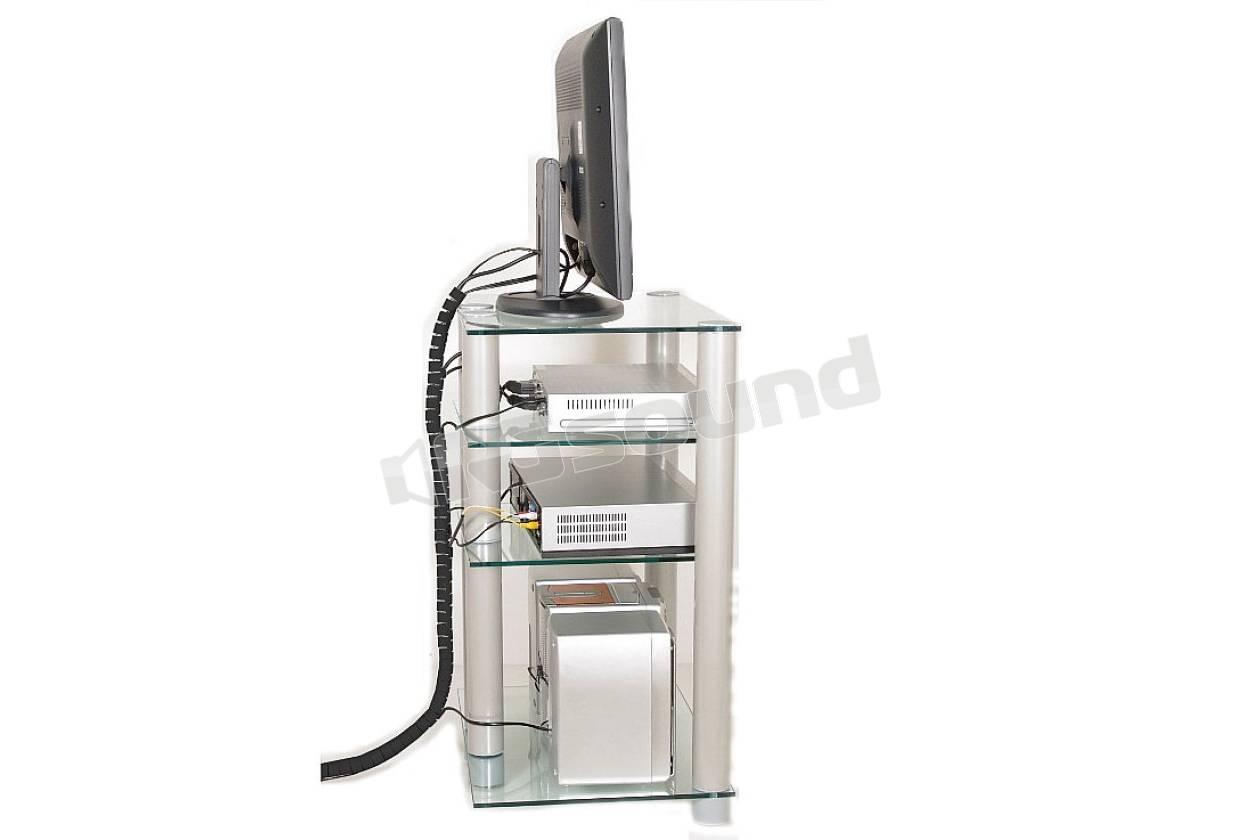 Prandini guaina zip supporti tv lcd plasma proiettori - Mobili porta hi fi ...