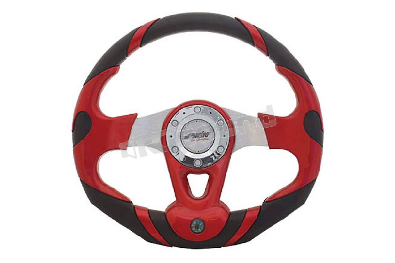 Simoni Racing 1212 Cavetto per Mozzo con Airbag Rosso//Nero