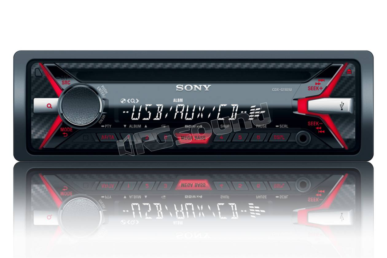 Sony cdx g u ricevitore con lettore cd e usb autoradio din