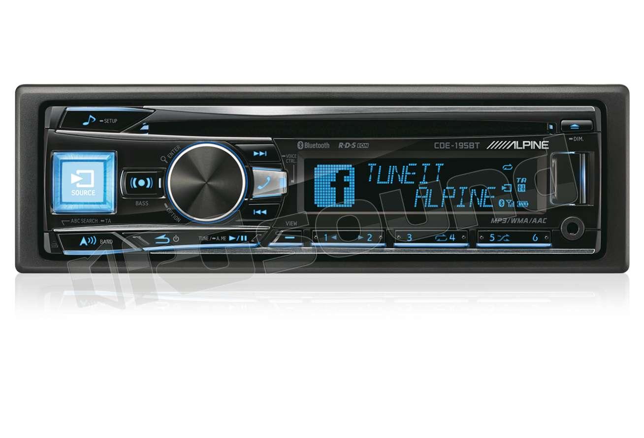 alpine cde 195bt autoradio 1 din e 2 din autoradio 1 din rg sound store. Black Bedroom Furniture Sets. Home Design Ideas