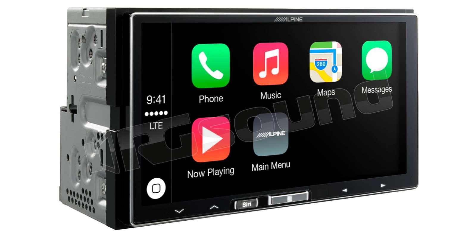 alpine ilx 700 apple carplay monitor monitor auto 1 e 2. Black Bedroom Furniture Sets. Home Design Ideas