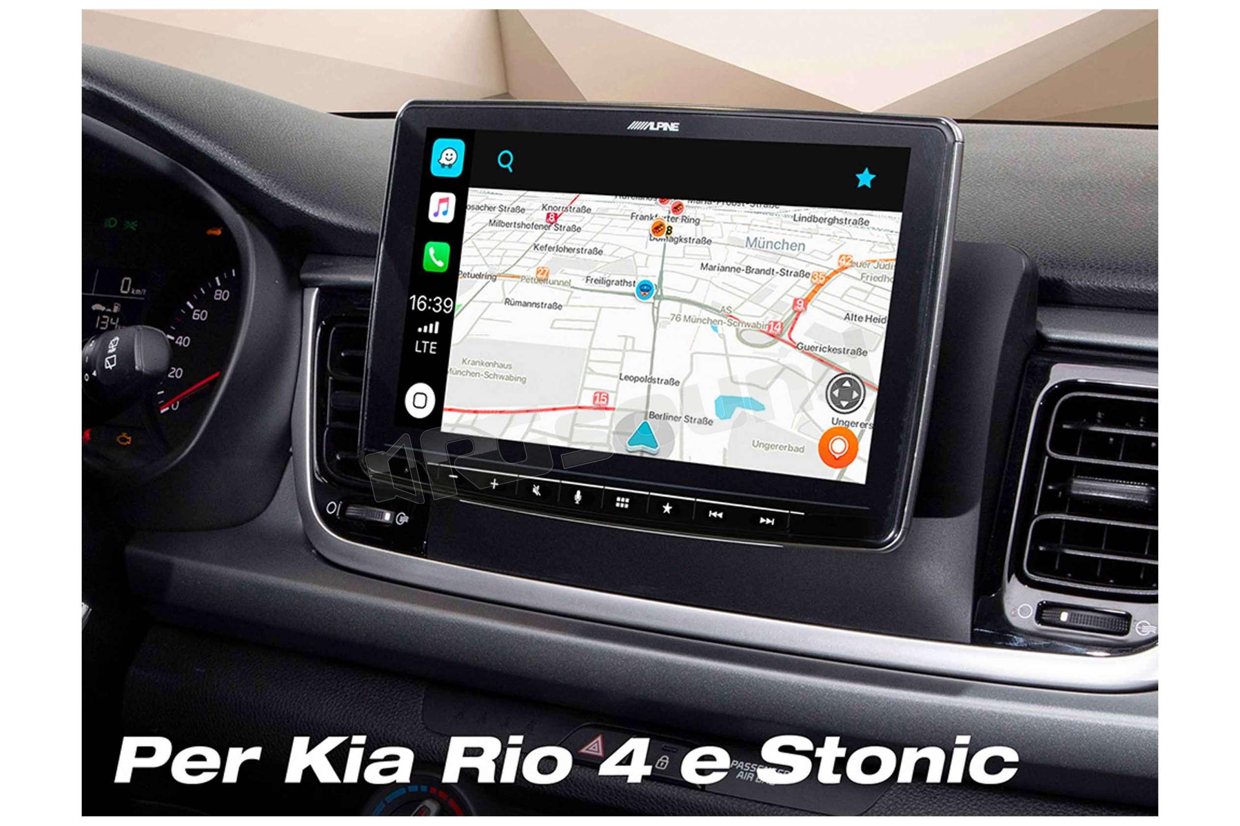 alpine ilx f903d monitor 9 39 39 autoportante con apple carplay e android rg sound store. Black Bedroom Furniture Sets. Home Design Ideas
