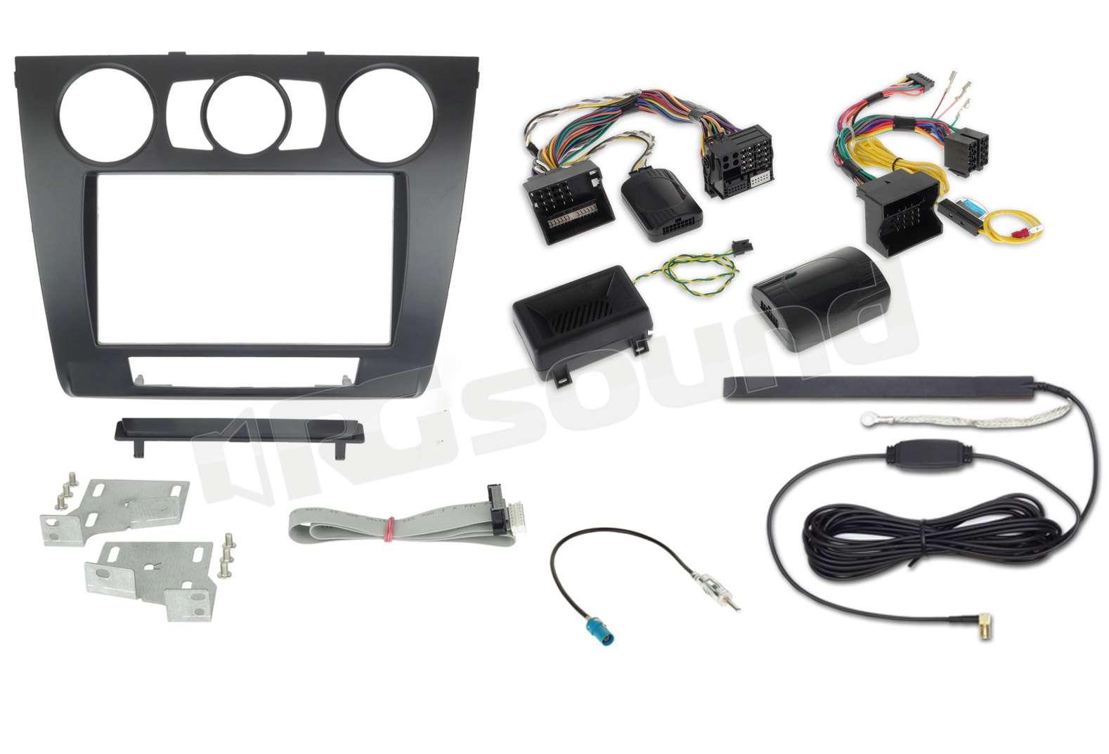 alpine kit 7bm1m kit bmw serie 1 con clima manuale installazione aut rg sound store. Black Bedroom Furniture Sets. Home Design Ideas