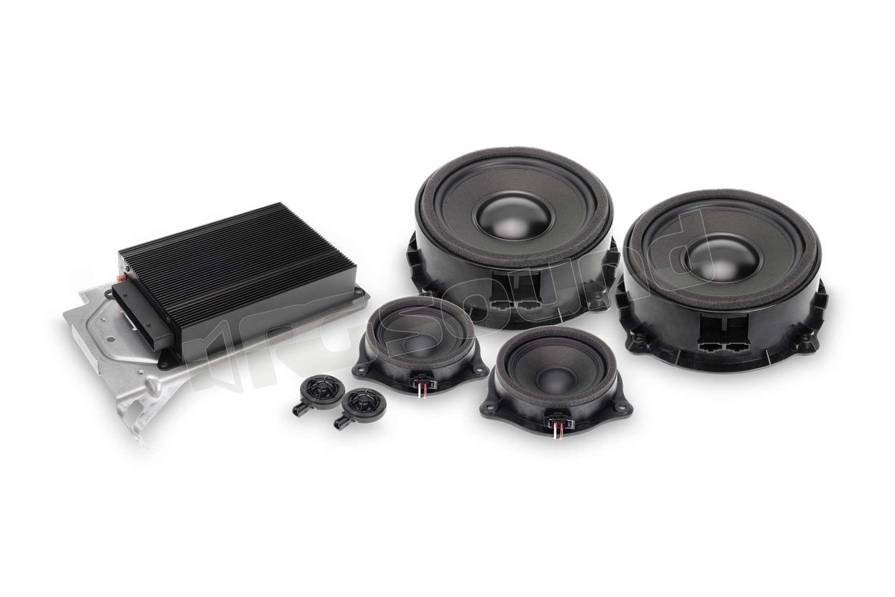 Alpine Spc 400tt Kit 3 Vie Con Amplificatore Dsp Per Audi
