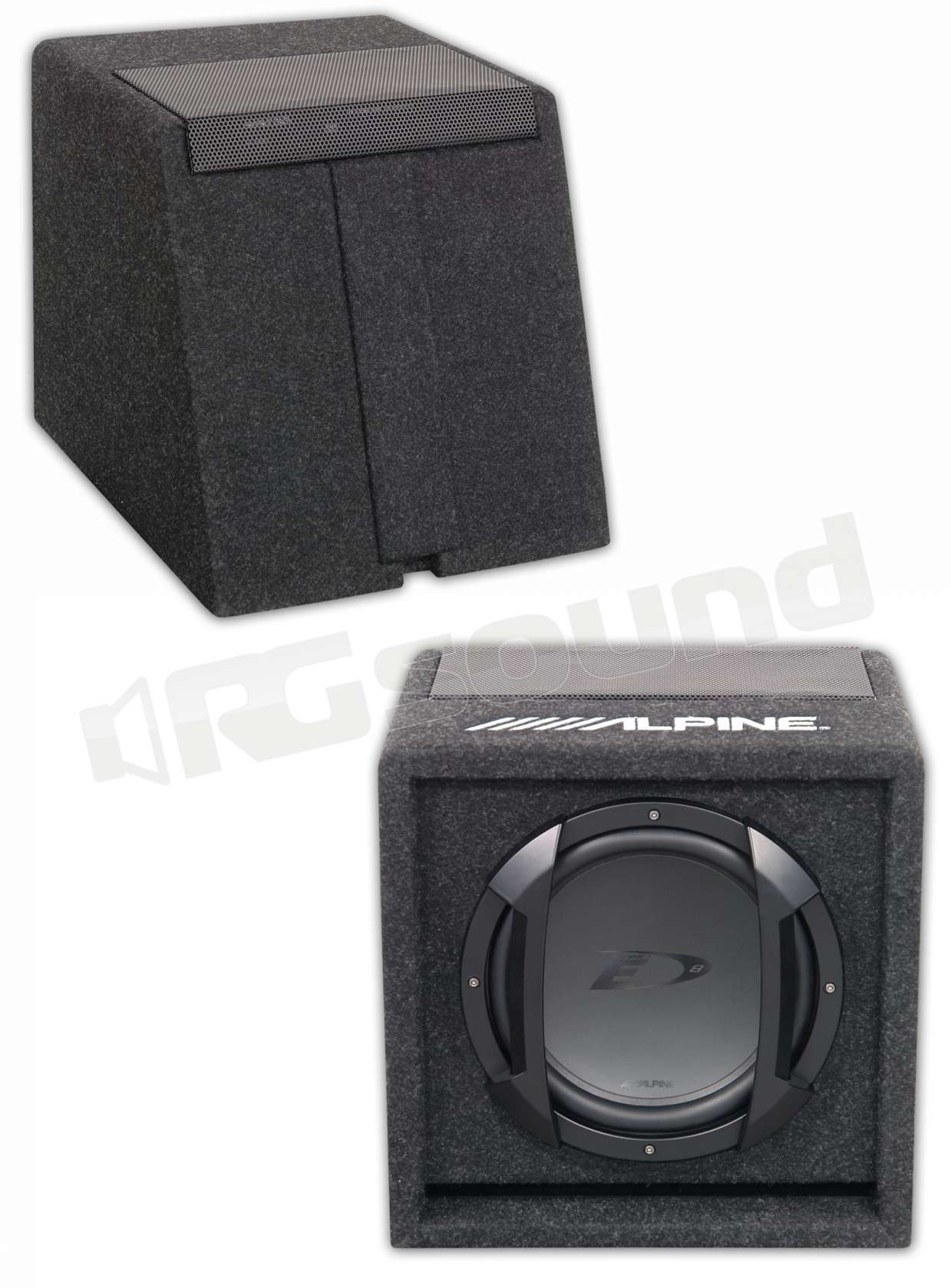 alpine swe 815 subwoofer subwoofer amplificati rg. Black Bedroom Furniture Sets. Home Design Ideas