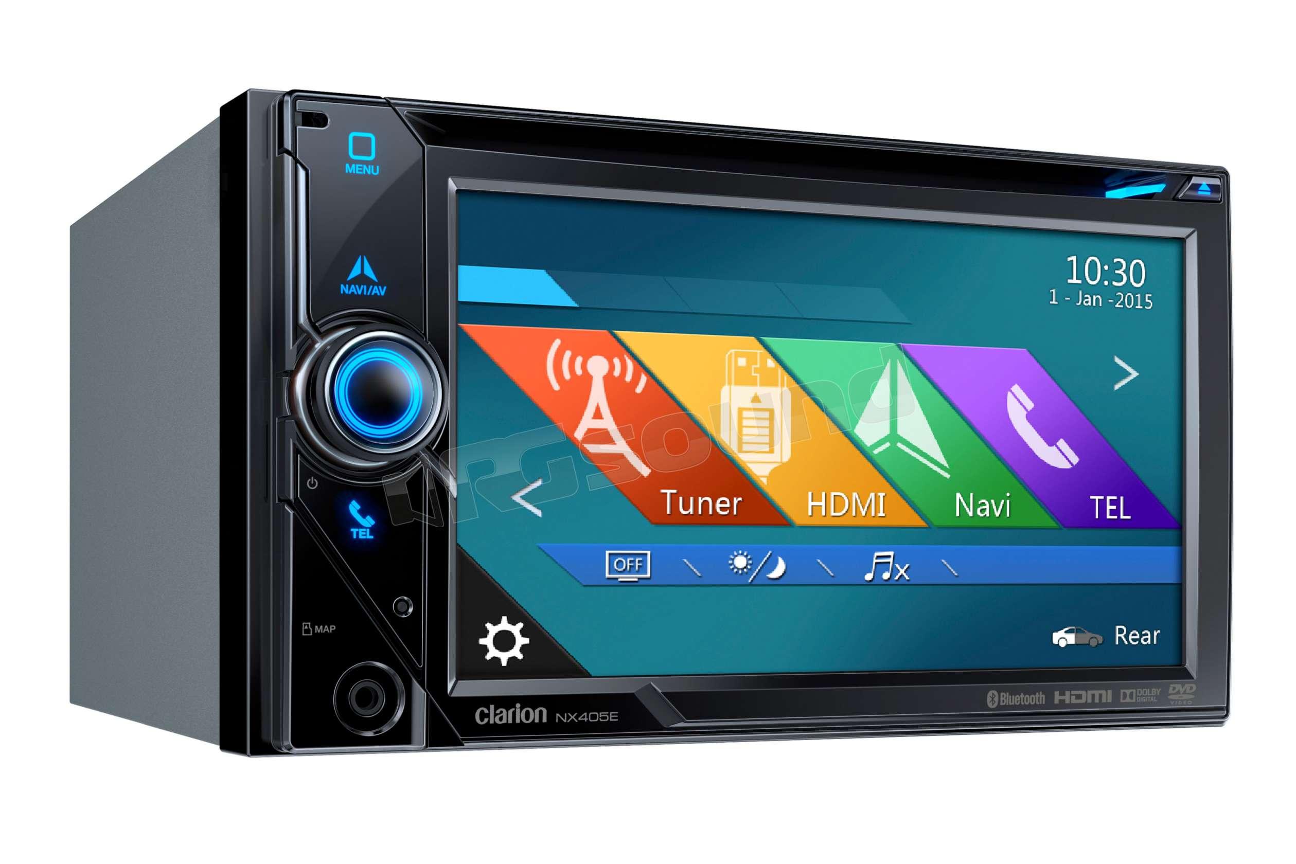 Gps Car Tracker >> Clarion NX405E DVD - GPS - Bluetooth - USB - HDMI ...