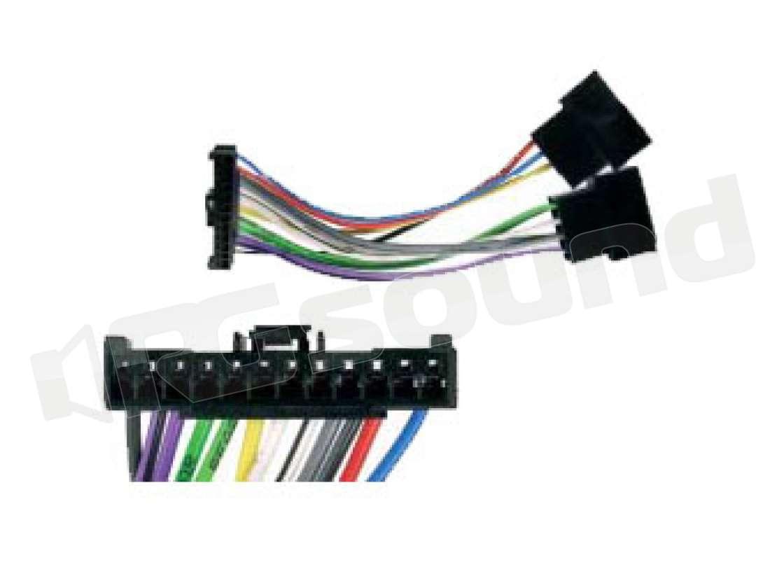 Schema Collegamento Autoradio Pioneer : Connection integrated solution 453002 pioneer cablaggi e accessori