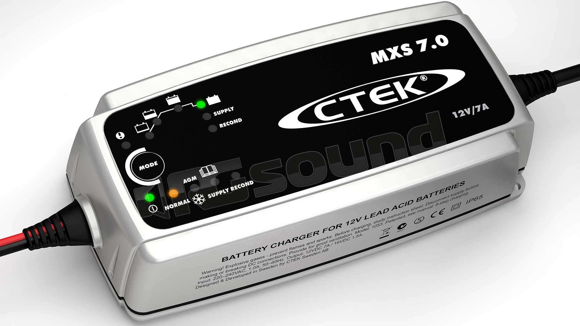 ctek mxs 7 0 caricabatterie caricabatterie ed. Black Bedroom Furniture Sets. Home Design Ideas