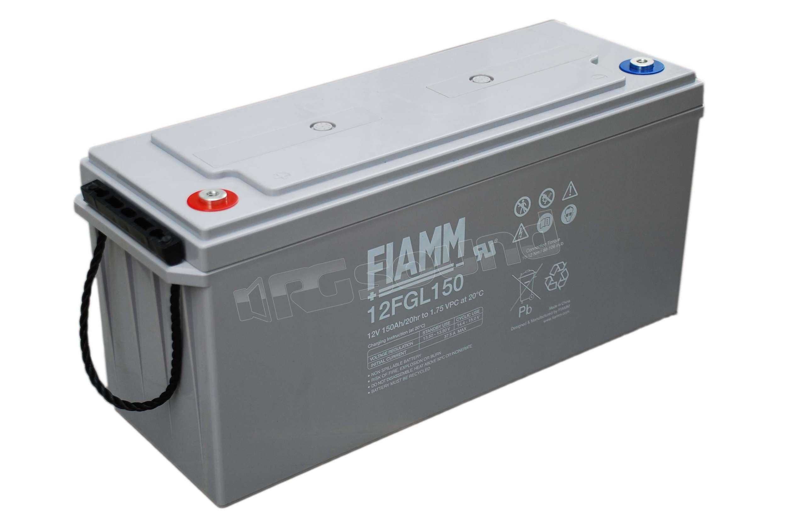 Gps Car Tracker >> Fiamm 12FGL150 batteria servizio 150Ah | Batterie per ...