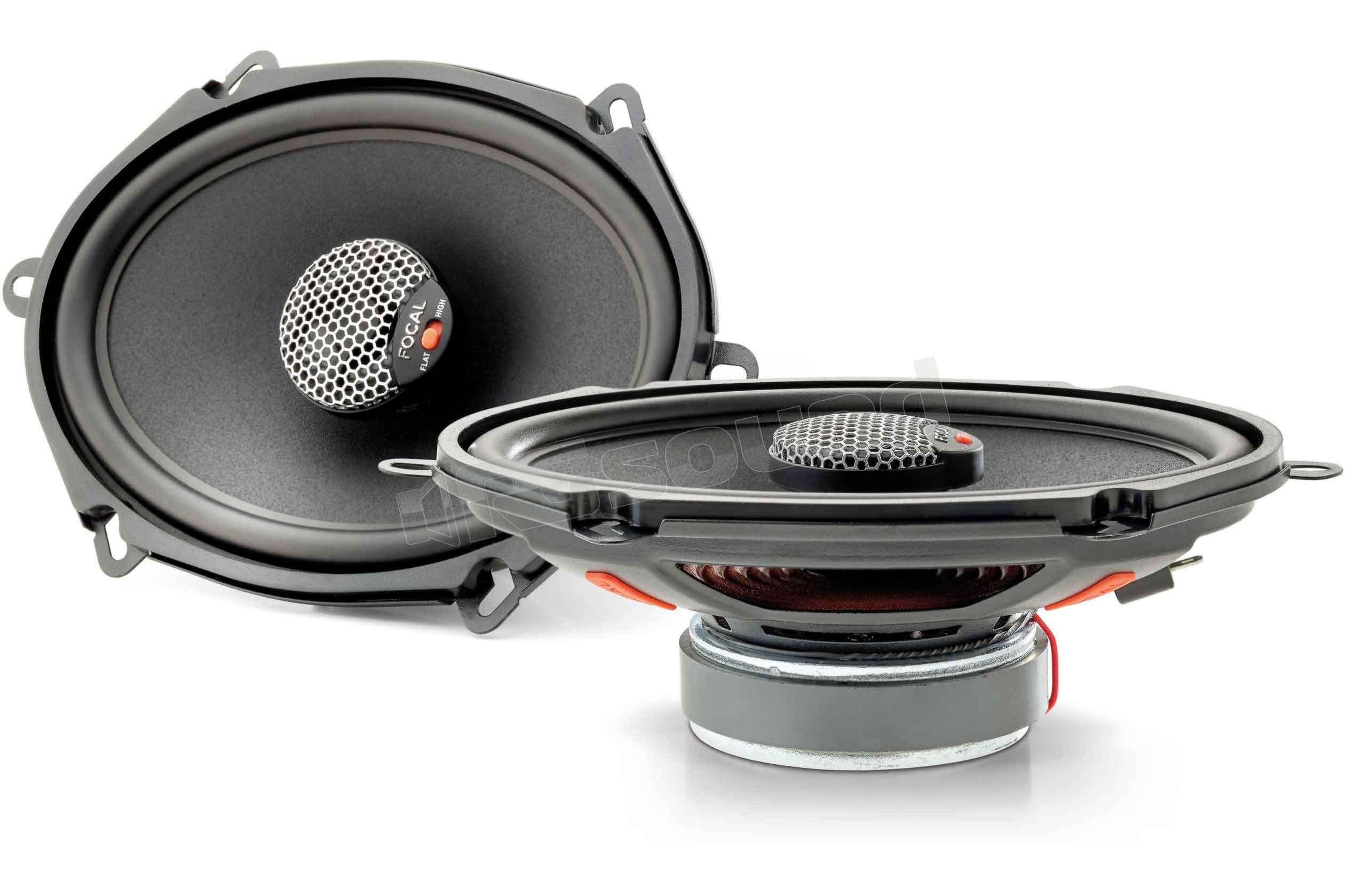 Focal icu 570 coassiali coassiali ellittici 5x7 :: rg sound store ::