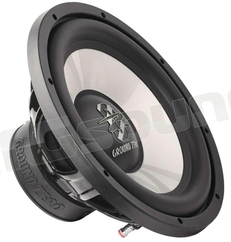 Ground Zero GZiW300X  30 cm Subwoofer Bass  Lautsprecher 350 Watt