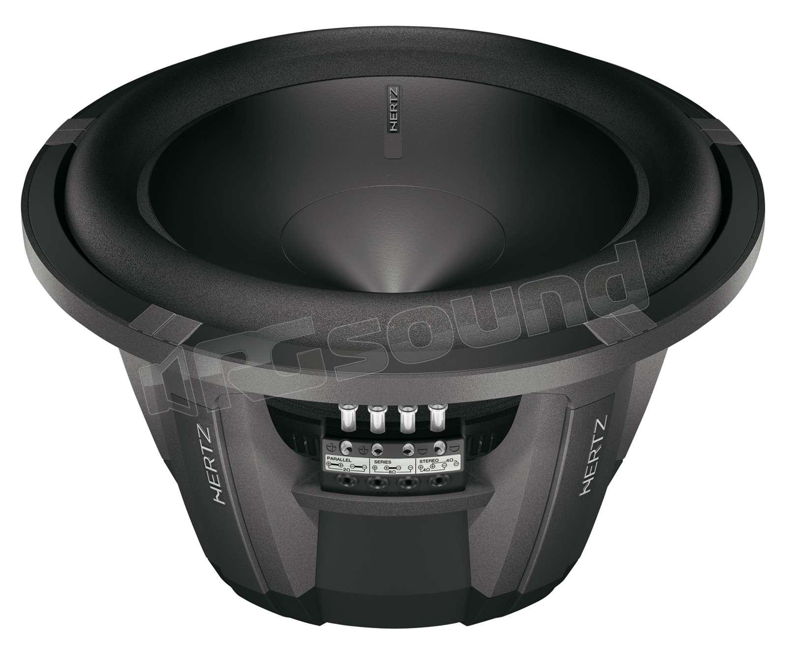 hertz hx 300 d 5 subwoofer subwoofer rg sound store. Black Bedroom Furniture Sets. Home Design Ideas
