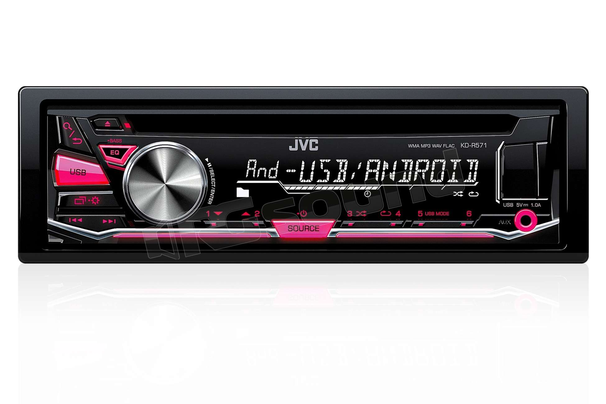 JVC KD-R571 Receiver Driver for PC