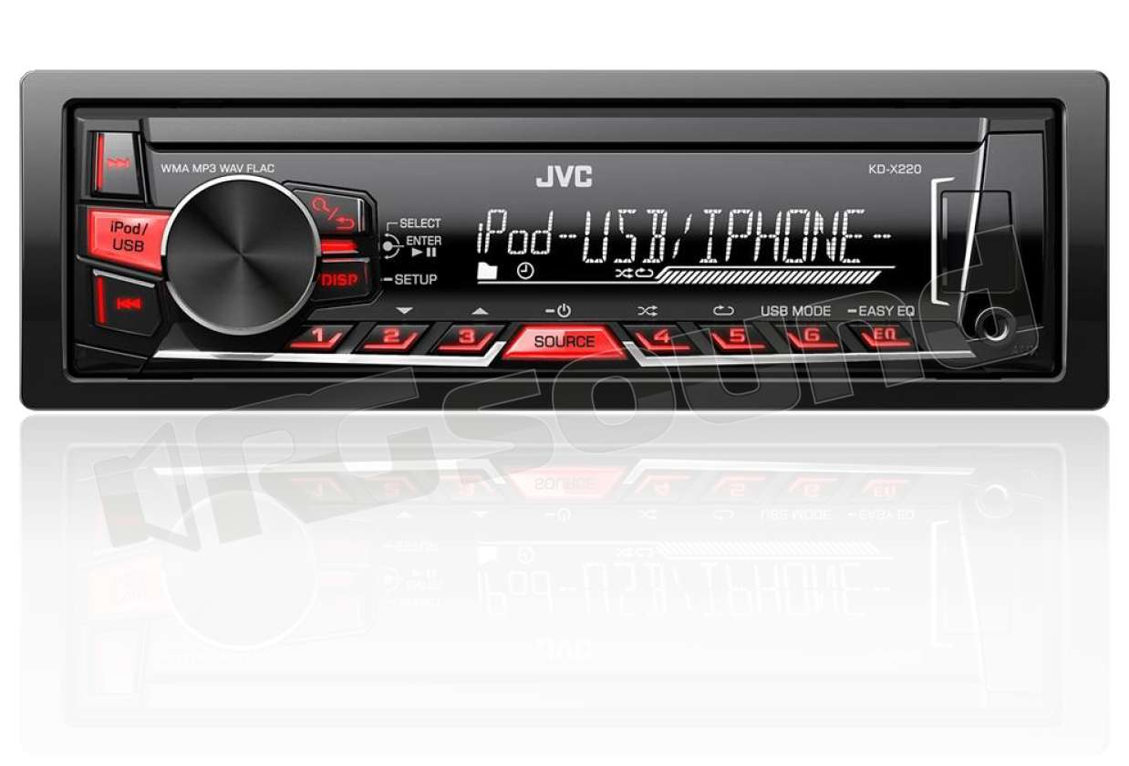 Gps Car Tracker >> JVC KD-X220 USB e AUX frontali | Autoradio 1 din e 2 din ...