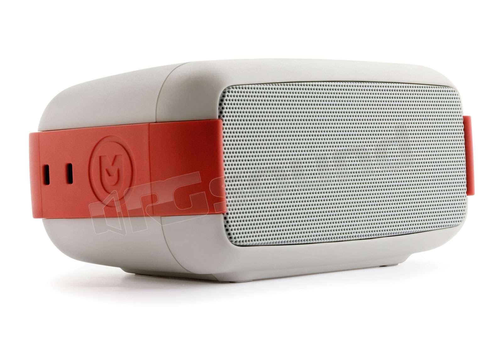 Macrom EASY Speaker wireless waterproof colore bianco-rosso ... 85a6cf880a7d