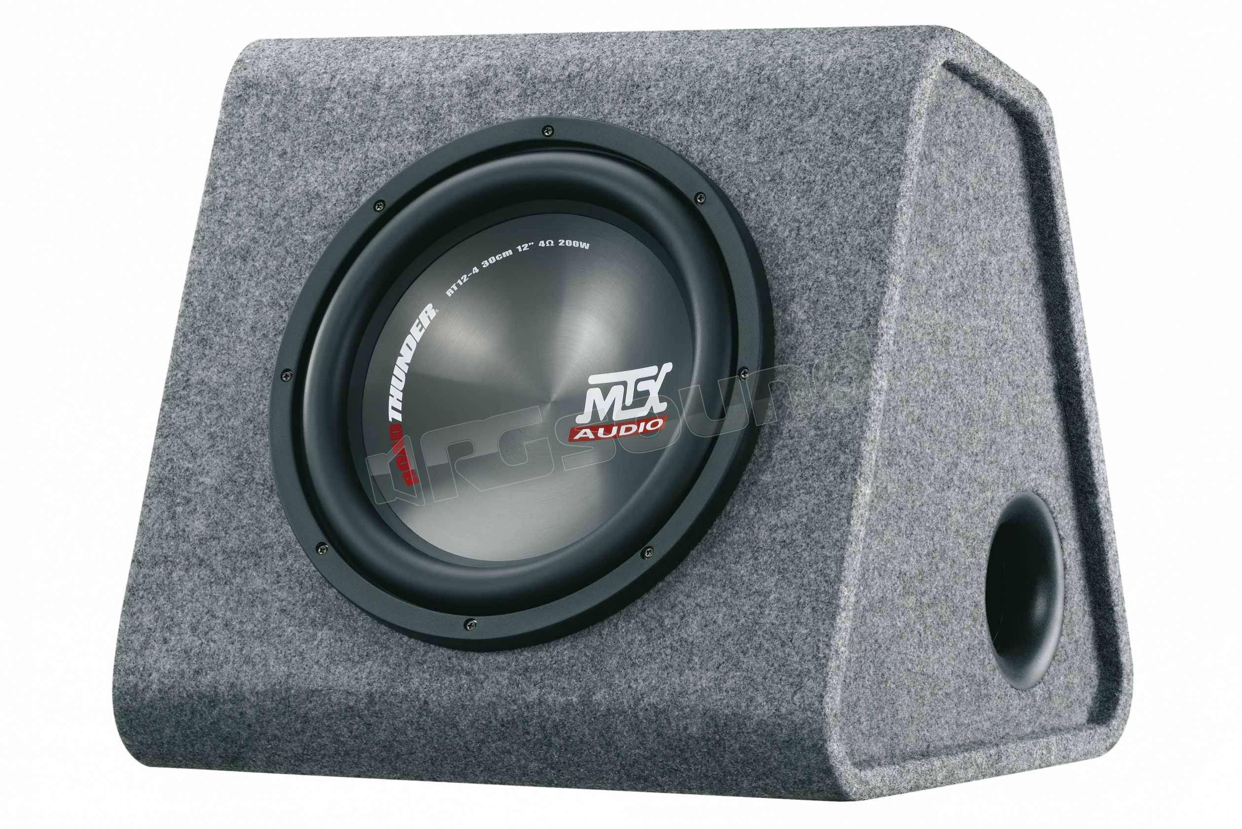 Mtx audio rtp 12 subwoofer subwoofer amplificati rg sound store - Subwoofer attivo casa ...