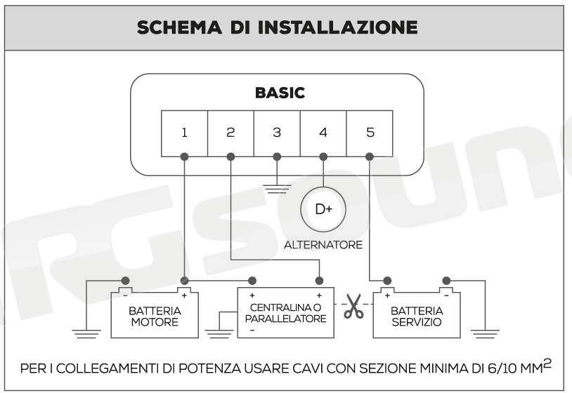 Schema Elettrico Nds Power Service : Nds energy pws caricabatterie power service basic