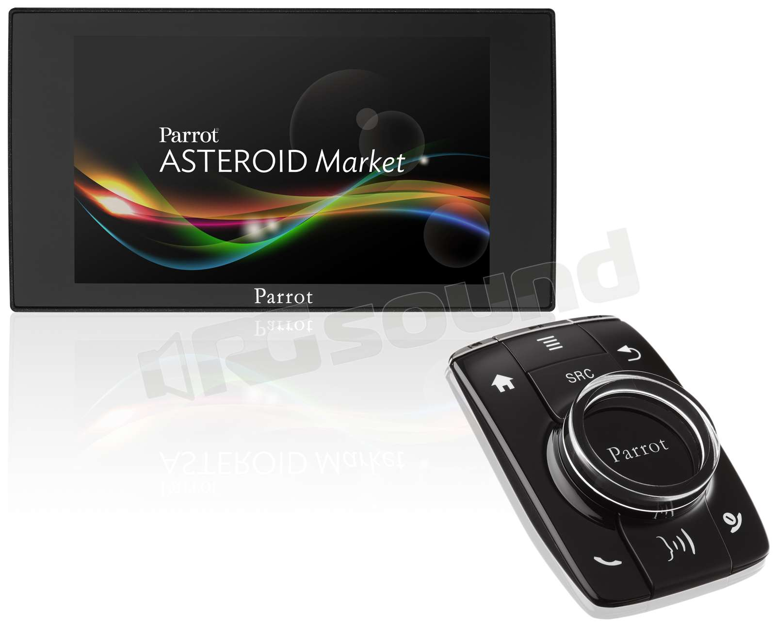 parrot asteroid mini telefonia auto kit vivavoce rg. Black Bedroom Furniture Sets. Home Design Ideas