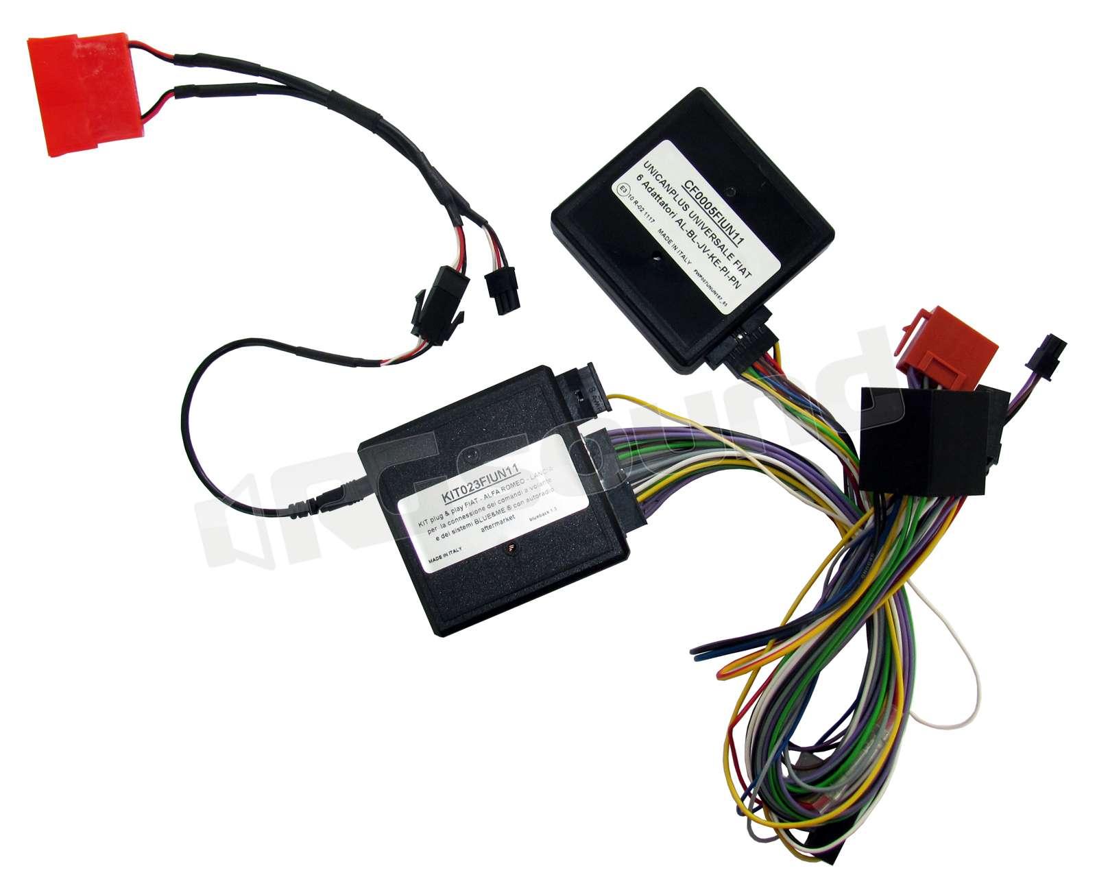 Phonocar 04042 Interfaccia comandi al Volante FIAT LANCIA ALFA PLUG/&PLAY