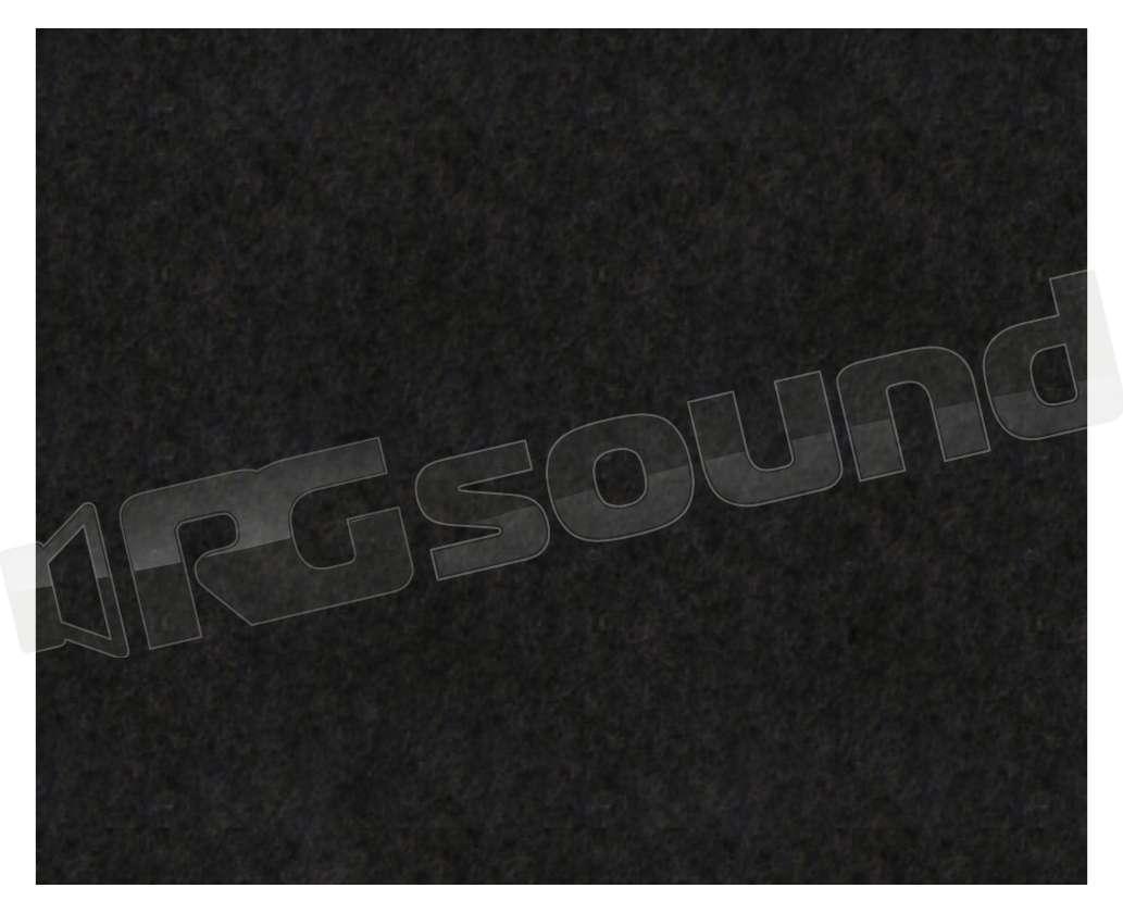 Moquette Acustica Nera Liscia Cm 140x90